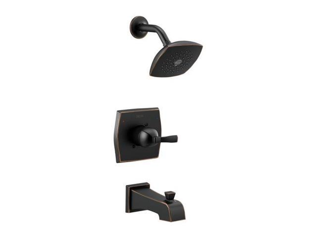 Delta Faucet 4905485 Monitor Flynn 1 Handle Tub & Shower Faucet, Oil Rubbed Bronze photo