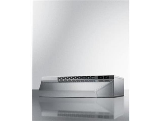 Summit Appliance H1724SS 24 in. Ductless Range Hood - Stainless Steel photo