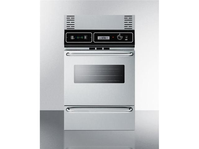 Summit Appliance TKW700SS 39 in. Wall Oven Trim Kit - Stainless Steel photo