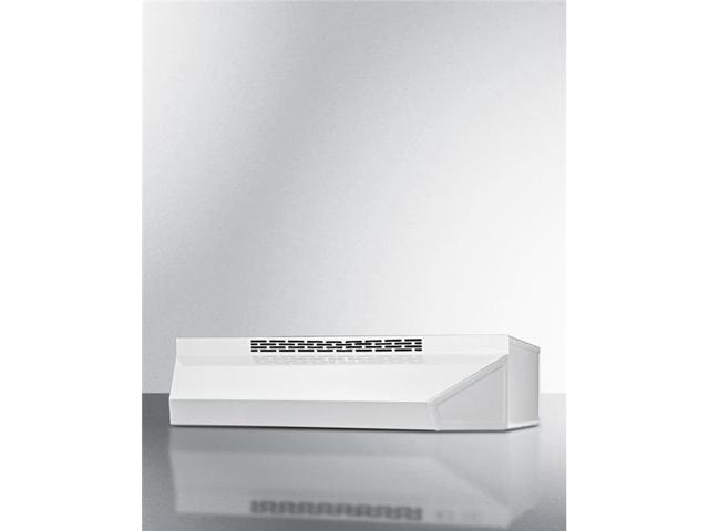 Summit Appliance ADAH1736W 36 in. Wide ADA Compliant Ductless Range Hood in White Finish with Remote Wall Switch photo