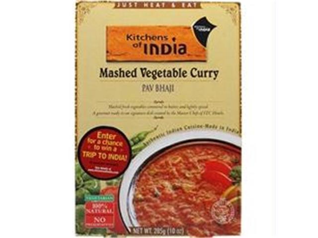 Kitchens Of India B27810 Kitchens Of India Ready To Eat Pav Bhaji Mashed Vegtable Curry -6x10oz photo
