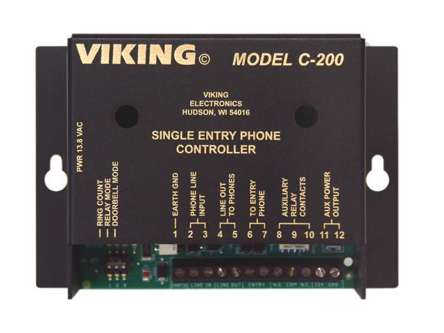 VIKING C200 SINGLE ENTRANCE PHONE CONTROLLER photo