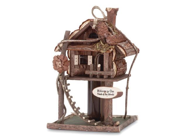 Koehler Home Decorative Tree House Bird House Feeder (849179013745 Home & Garden) photo