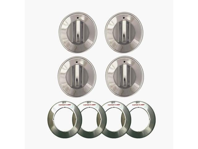 Range Kleen 8224 Replacement Gas Range Knob-CHROME GAS KNOB photo