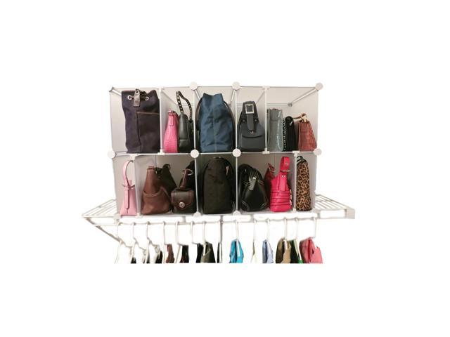Luxury Living Deluxe Park-a-Purse Handbag Storage Organizer (899064000800 Luggage & Bags) photo