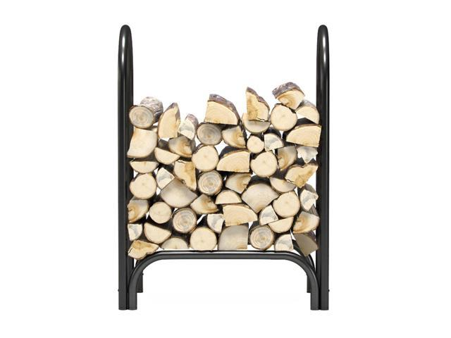 Gibson Living Room Decor 28' Indoor Outdoor Firewood Shelter Log Rack photo