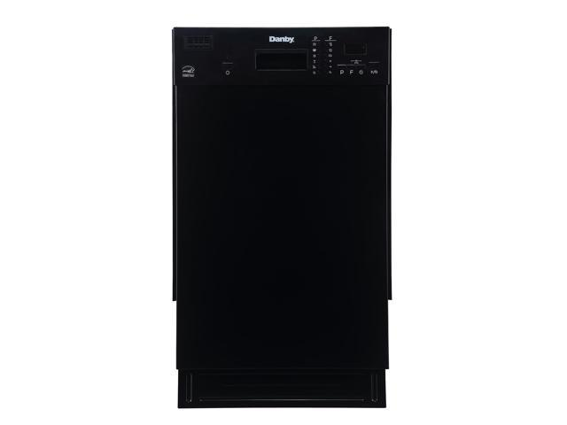 Danby DDW1804EB 18-Inch Built-In Compact Dishwasher for Small Kitchens, Black photo