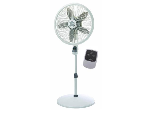 Lasko 18' Elegance & Performance Oscillating Pedestal Fan w/ Remote (For Parts) photo