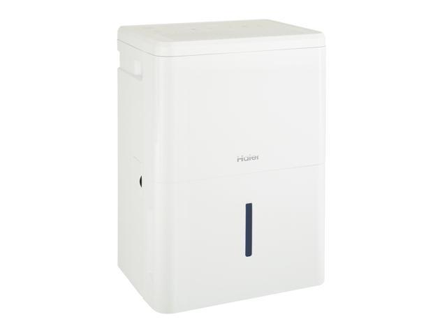 Haier QDHR20LZ 20-Pint 3-Speed LED Digital Controls Portable Dehumidifier, White photo
