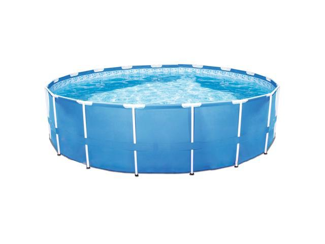 Bestway Steel Pro 12ft x 30in Frame Above Ground Swimming Pool with Filter  Pump - Newegg.com