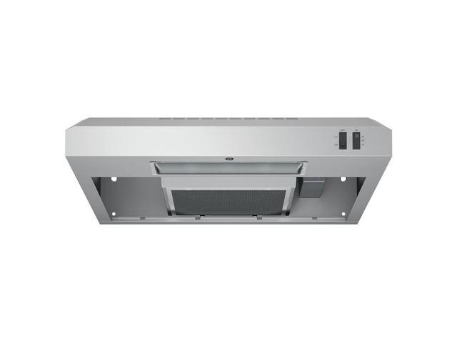 GE 24 Inch Under The Cabinet Hood Stove Top Venting System, Stainless Steel photo