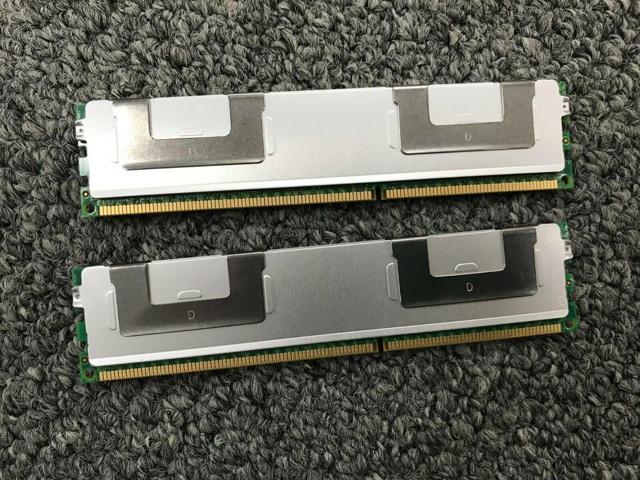 Server RAM 32GB 2x 16GB PC3L-8500R ECC Registered DDR3 4Rx4 RDIMM Memory LOT
