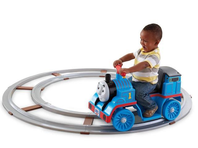 Fisher-Price Power Wheels Thomas & Friends Thomas the Tanker Train with Track