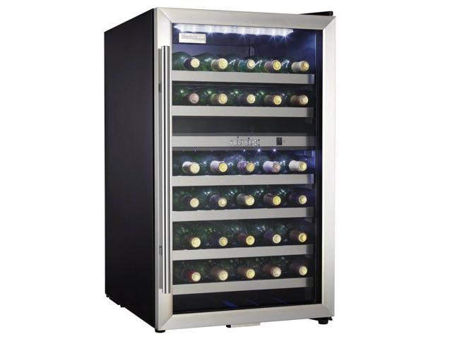 Danby Designer 38-Bottle LED Interior Freestanding Wine Cooler photo