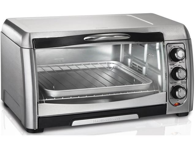 Hamilton Beach 31333D Toaster Oven with Convection, Stainless Steel photo