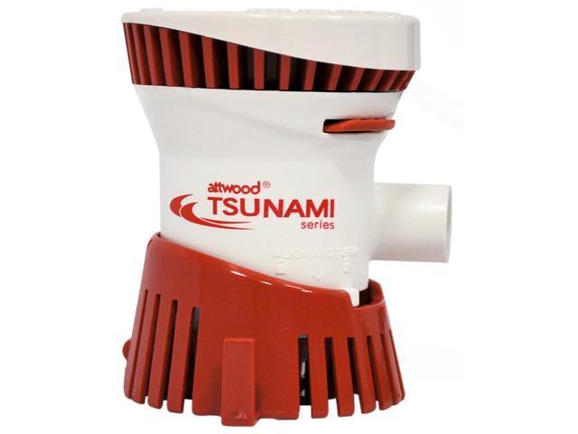ATTWOOD MARINE ATTWOOD TSUNAMI T500 BILGE PUMP 12V 500 GPH 4606-7 photo