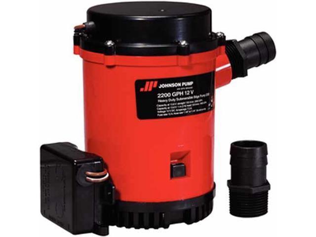 Johnson Pump 2200GPH Ultima Combo Auto Bilge Pump - 12V photo