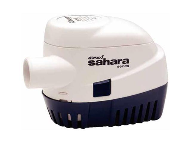 ATTWOOD MARINE ATTWOOD SAHARA S1100 AUTOMATIC BILGE PUMP 12V 1100 GPH 4511-7 photo