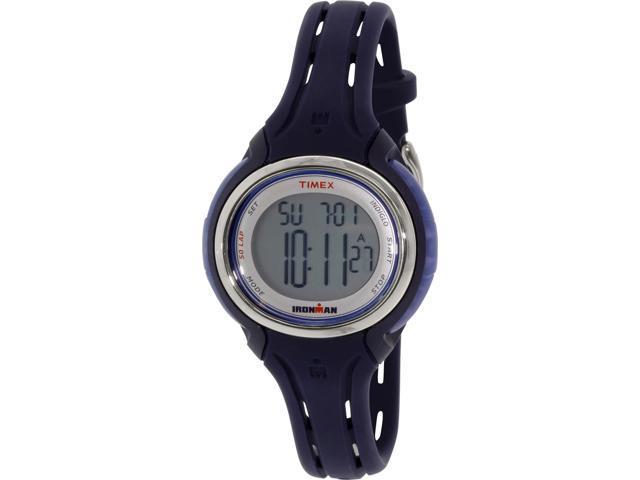 Women's Timex Mid Size Ironman Sleek 50 Navy Blue Watch TW5K90500