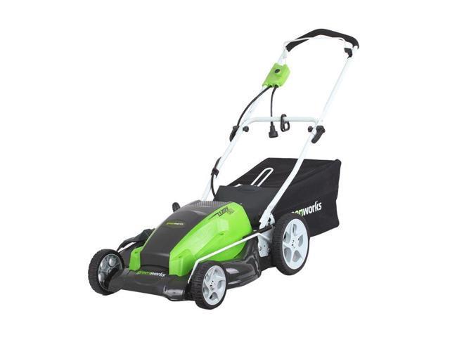 Greenworks 13 Amp Corded Lawn Mower (841821006174 Home & Garden Lawn & Garden Lawn Mowers) photo