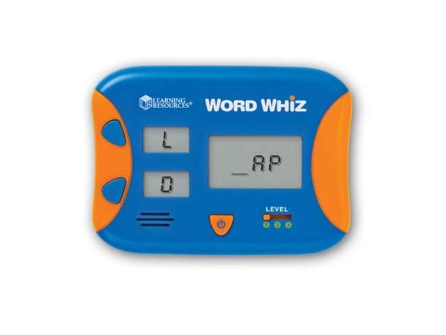 Learning Resources Word Whiz Electronic Flash Card photo