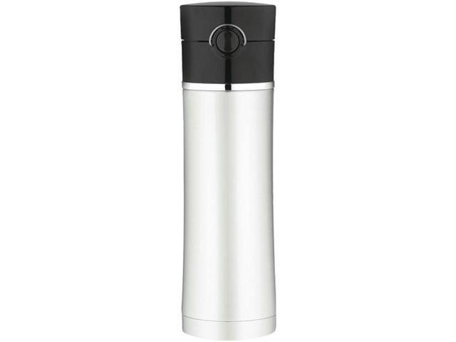 Thermos Sipp Vacuum Insulated Drink Bottle - 16 oz. - Stainless Steel/Black photo