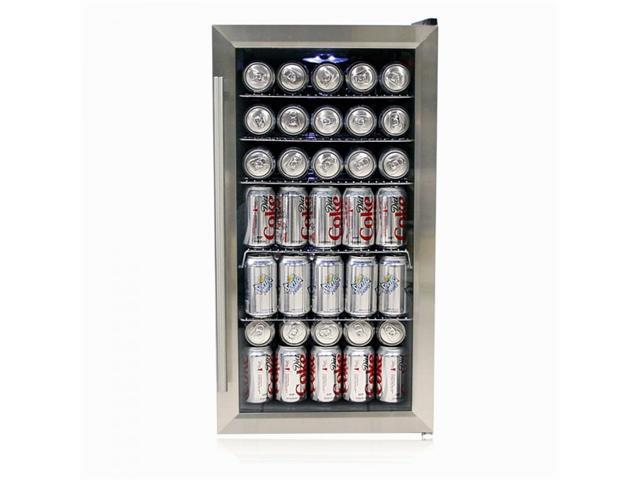 Beverage Refrigerator - Stainless Steel - by Whynter photo