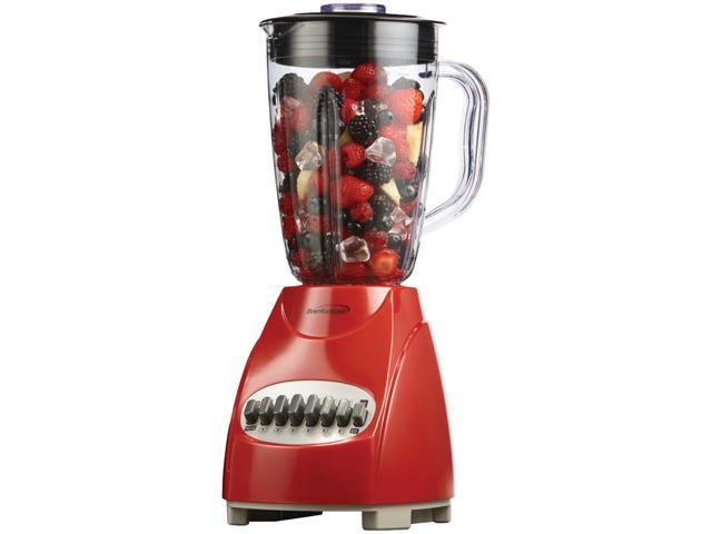 Brentwood Appliances JB-920R 12-Speed Blender with Plastic Jar (Red) photo