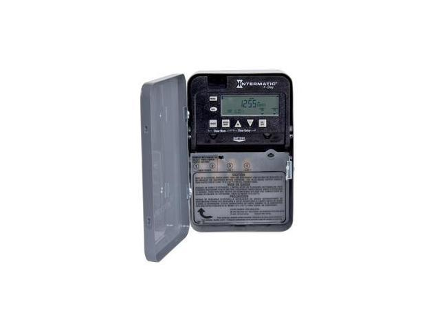 Intermatic Electronic Timer Gray ET1705C photo