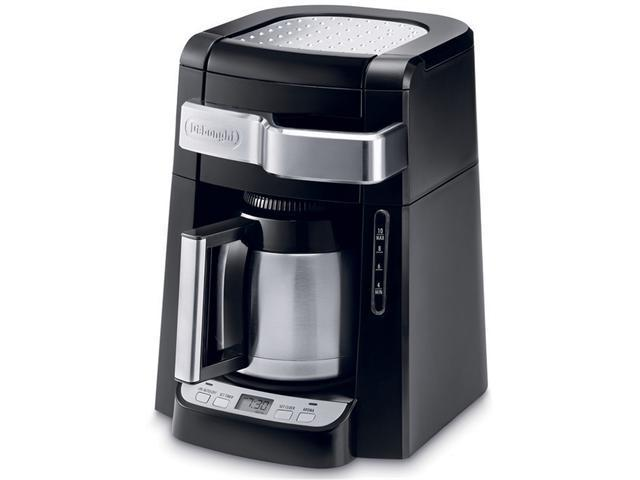 10-Cup Frontal Access Coffee Maker Black photo
