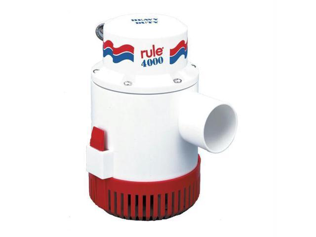 RULE 4000 NON AUTOMATIC BILGE PUMP 12V photo