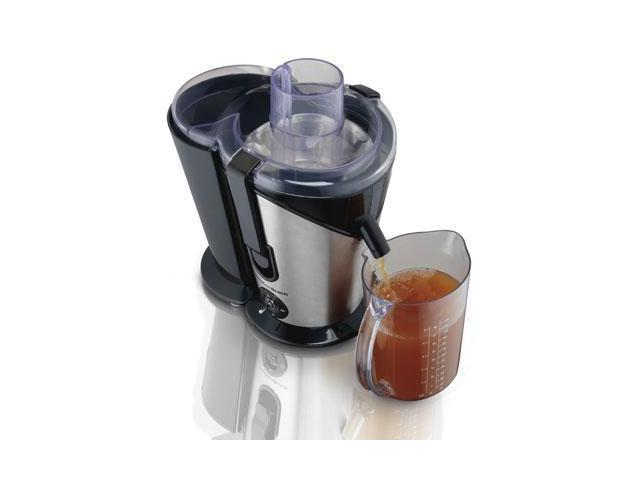 Hamilton Beach Juice Extractor, 2- Speed Big Mouth, Black (67750) photo
