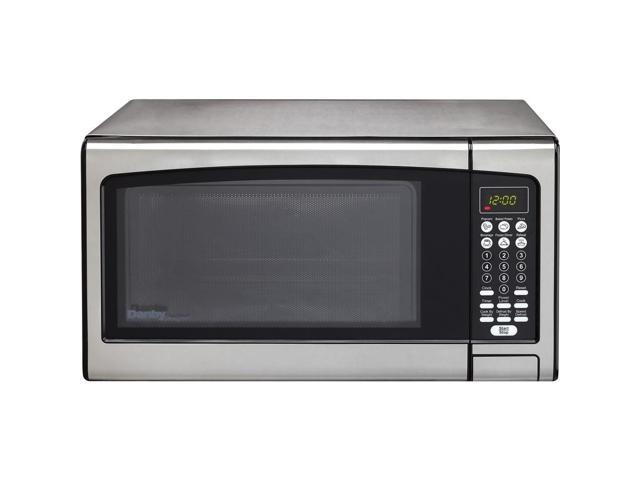 Danby DMW111KPSSDD 1.1 Cu. Ft. Stainless Countertop Microwave Oven photo