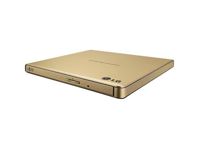 LG External CD / DVD Rewriter With M-Disc Mac & Surface Support (Gold) - Model GP65NG60 photo