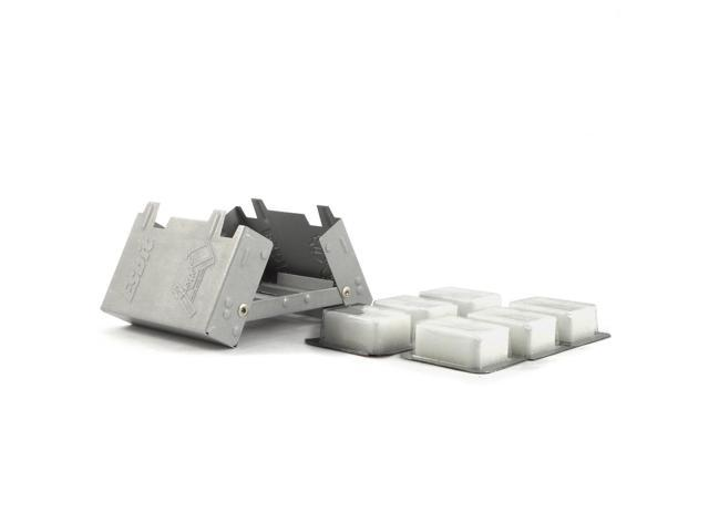 Esbit Pocket Stove with 6 Pack 14g Solid Fuel Tablets E-STOVE-6X14 photo