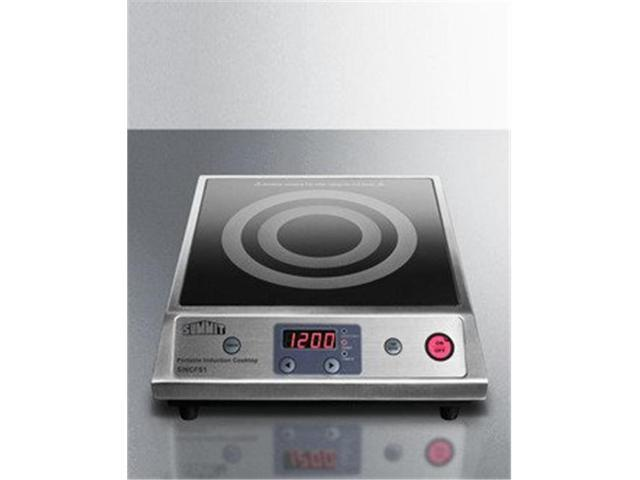 Summit Appliance SINCFS1 12 in. Electric Smoothtop Cooktop with Black Ceran, Smooth-Top Finish photo