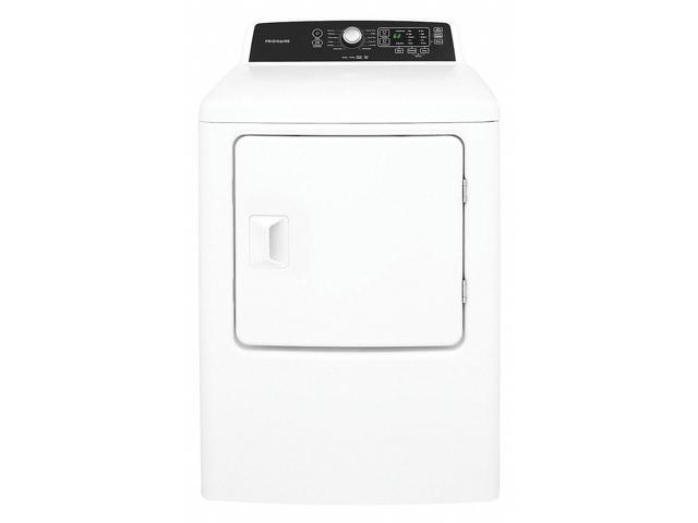 FRIGIDAIRE FFRE4120SW Dryer, White, Electric,42-7/8' H photo