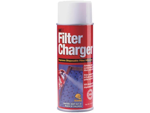 Web 14 Oz. Aerosol Filter Charger Furnace/Air Conditioner Filter Spray WCHARGE photo
