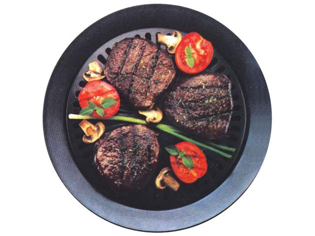 Chefmaster KTGR5 Chefmaster Smokeless Indoor Stovetop Barbeque Grill photo
