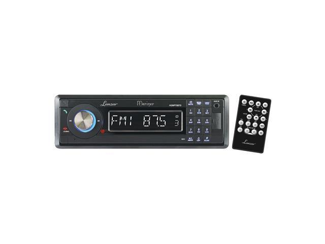 Lanzar - AM/FM-MPX In-Dash Marine Detachable Face Radio w/SD/MMC/USB Player & Bluetooth Wireless Technology (068889034523 Electronics Marine Electronics) photo