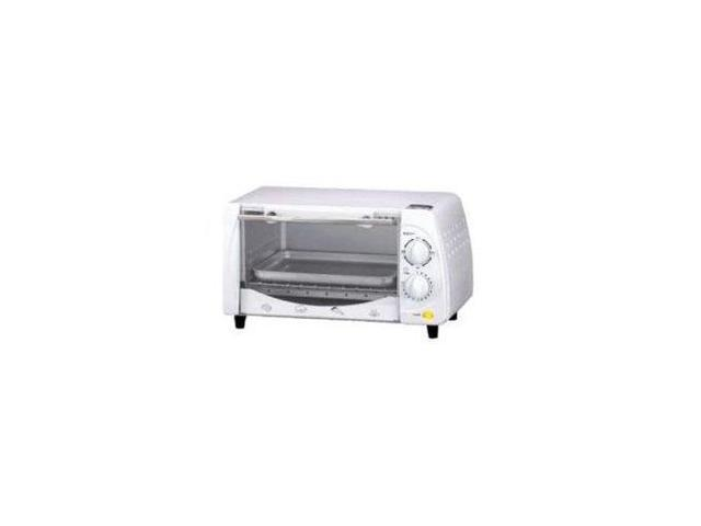 Brentwood Toaster Oven - 0.32 ft³ Capacity - Toast, Broil, Bake - White photo