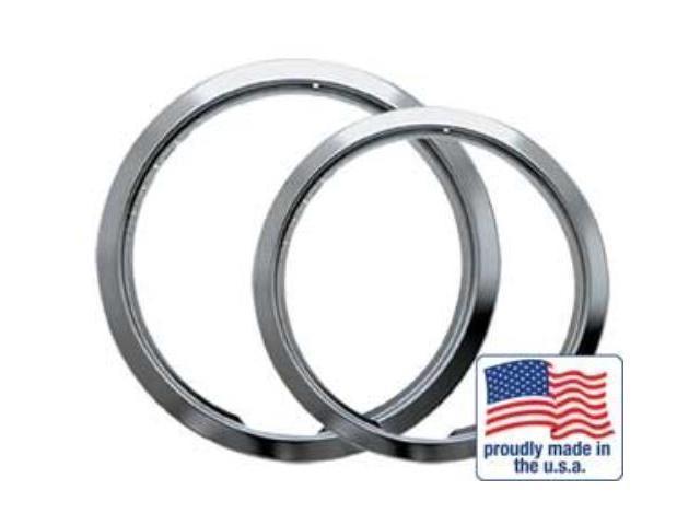 RANGE KLEEN R68U 2 Pack Chrome Trim Rings (Style E) photo