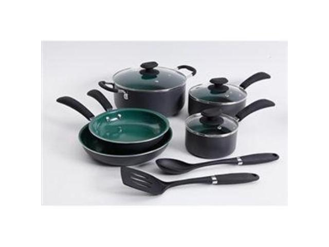 Gibson Overseas 109449.1 Eco Friendly Cookware 10Pc Grn photo