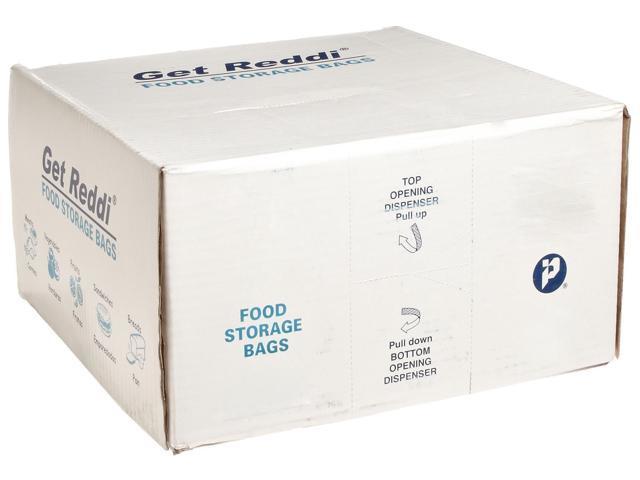 Inteplast Group PB100420R 18 qt 0.68 mm Get Reddi Food Polythene Bag, Clear photo