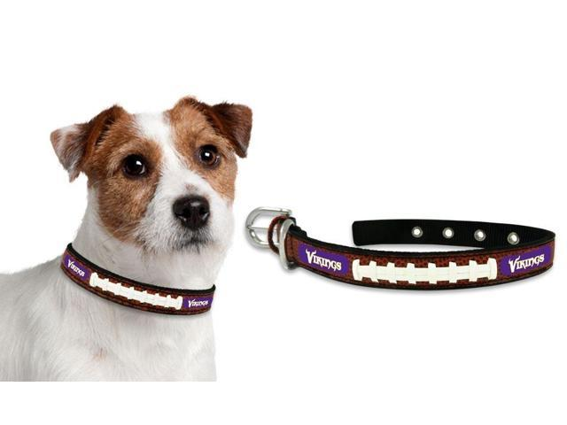 Minnesota Vikings Official NFL Dog Collar by Gamewear 061729 photo