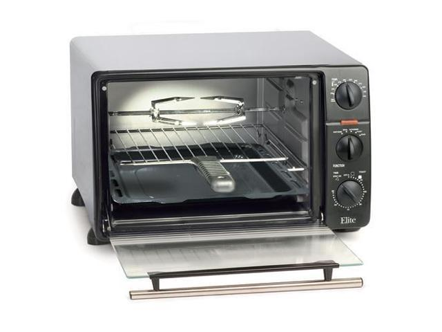 Elite Cuisine ERO-2008N 23-Liter Toaster Oven Broiler with Rotisserie photo
