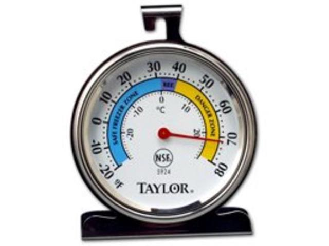 Taylor Precision 5924 Classic Freezer and Refrigerator Kitchen Thermometer photo