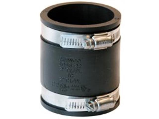FERNCO 1056-22 Flexible Coupling, For Pipe Size 2' x 2', Standards: ASTM C1173 photo