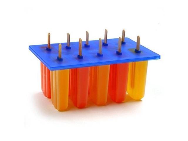norpro frozen ice pop maker with 24 wooden sticks photo