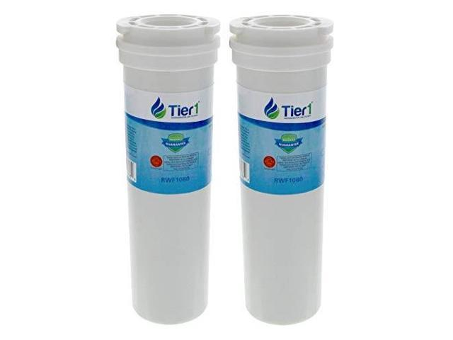 tier1 replacement for fisher & paykel 836848, 836860 refrigerator water filter 2 pack photo